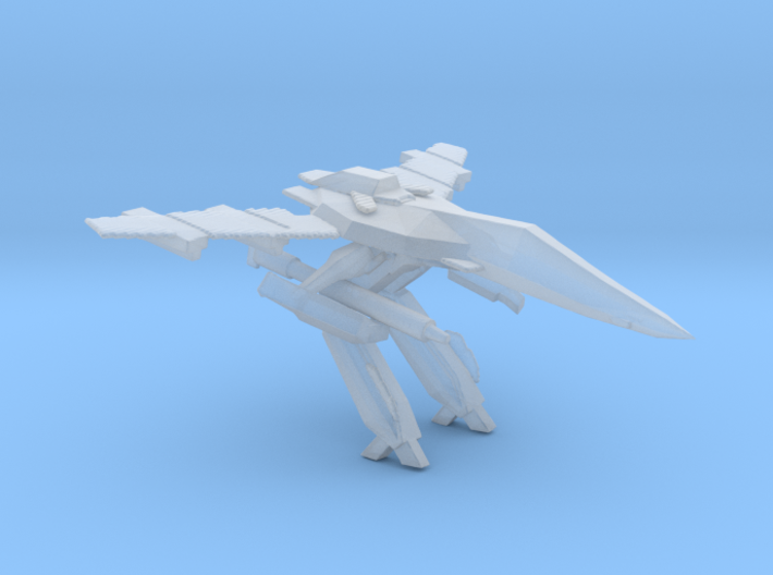 1/350 VF-1 Gerwalk Mode Carrier Diorama 3d printed
