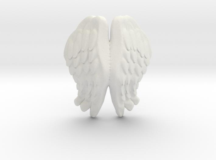 Printle Thing Angel Wings I - 1/24 3d printed