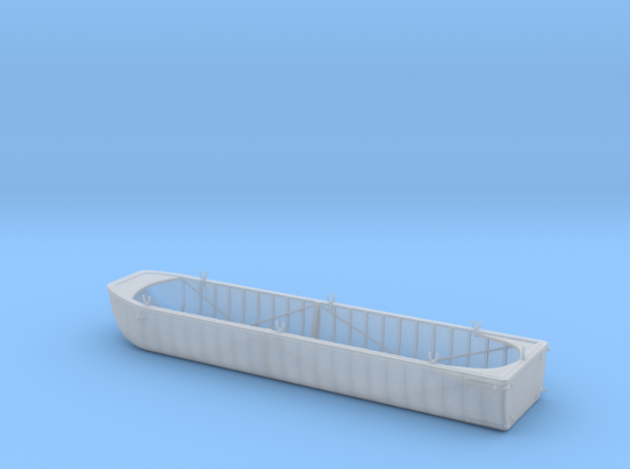 1/56th scale Austro-Hungarian pontoon (long) 3d printed