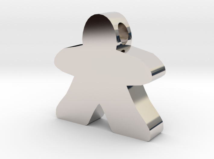 Meeple  [pendant] 3d printed