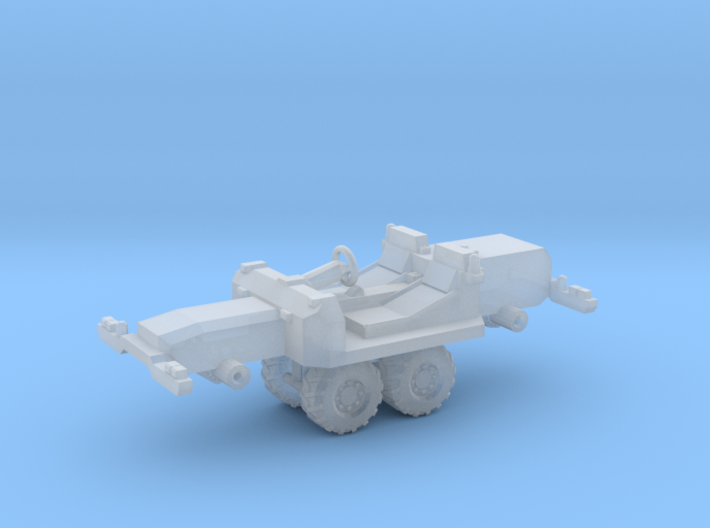 1/87 Scale Mine Inspection Car 3d printed
