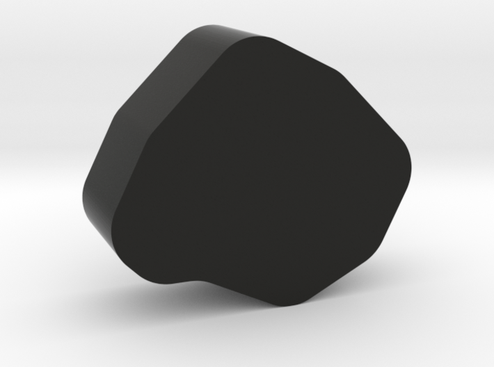 Coal Game Piece 3d printed
