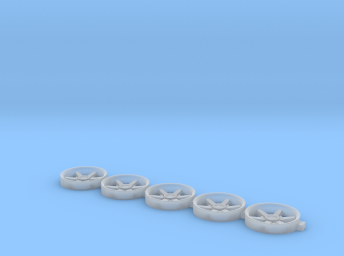 Renault Alpine A110 wheel inserts 8.6mm 3d printed