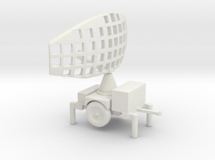 1/72 Scale Hawk Missile PAR (Pulse Acquisition Rad 3d printed