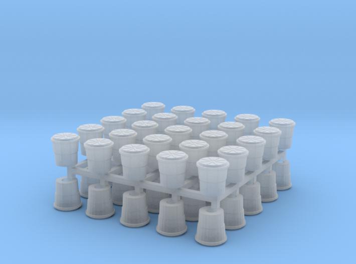 Crash Barrel N Scale 50 Pack 3d printed