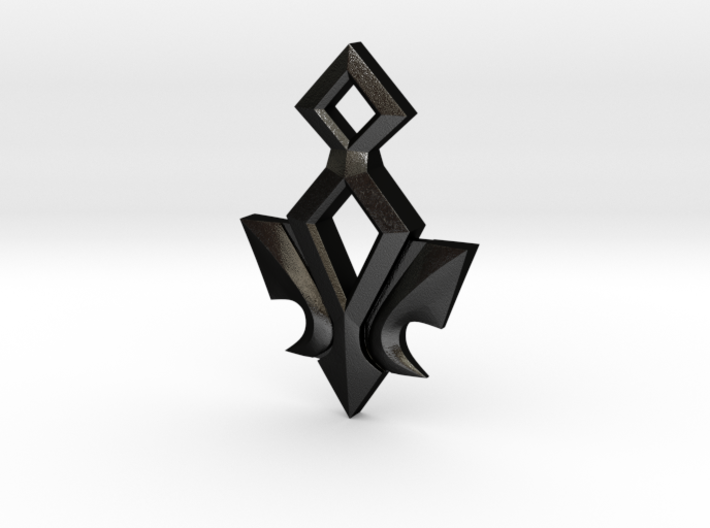 Kingdom Hearts Ends of the Earth Pendant 3d printed