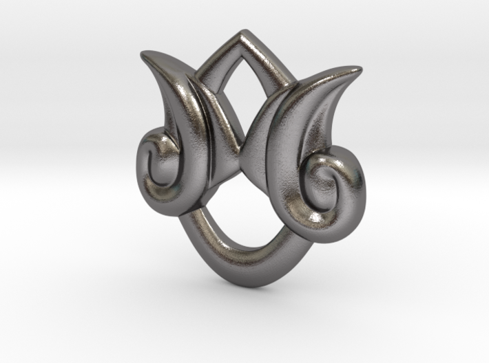 Kingdom Hearts Stormfall Pendant 3d printed
