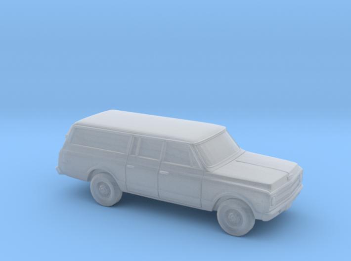 1/220 1967-70 Chevrolet Suburban Split Rear Door 3d printed