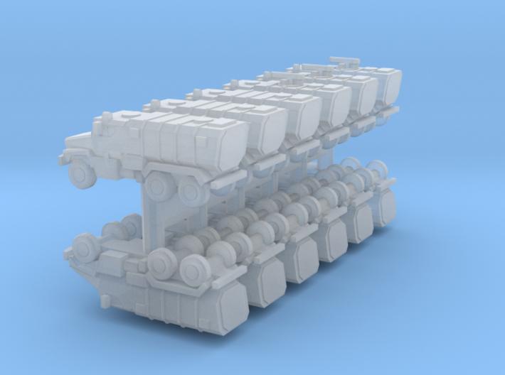1/700 Ural Typhoon x12 (FUD) 3d printed