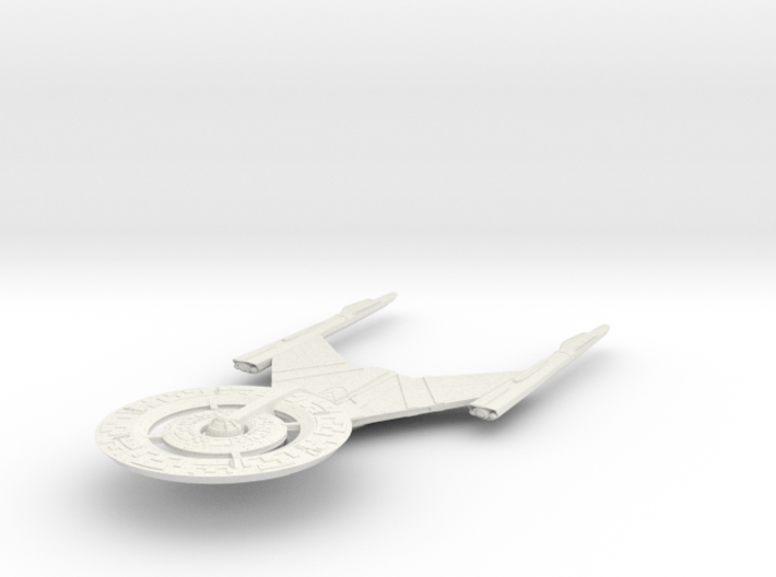 "USS Discovery 6"" long 3d printed"