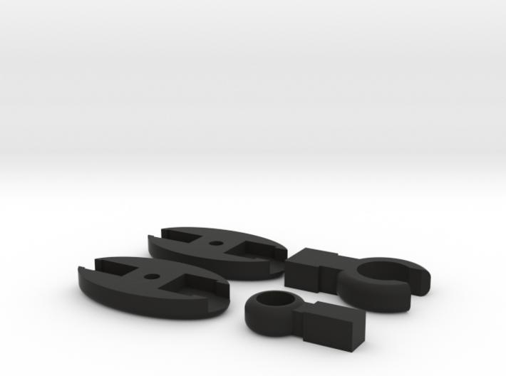 SCUBA - Carabiner Type - HP Hose Clip 3d printed