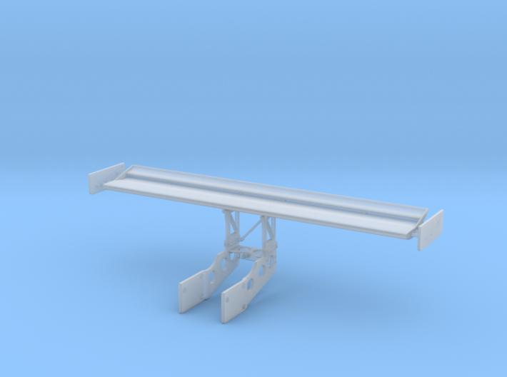 Joest 962C Short-Chord 2-Element Rear Wing, 1/24 3d printed