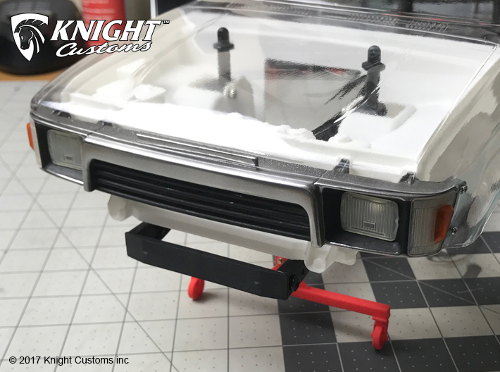 4R10001 4Runner grill 3d printed Grill shown painted with light lens added (sold separately)