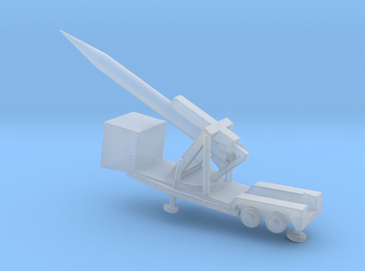 1/285 Scale M504 Missile Launcher Sergeant Missile 3d printed