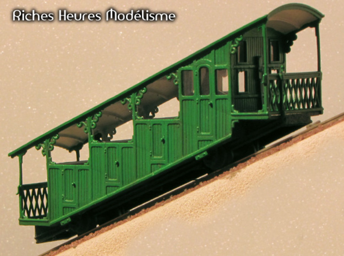 HOfunMD21 - Mont Dore funicular station 3d printed