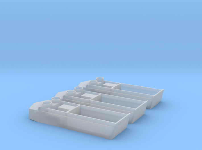 1/285 Scale LCVP Set Of 3 3d printed