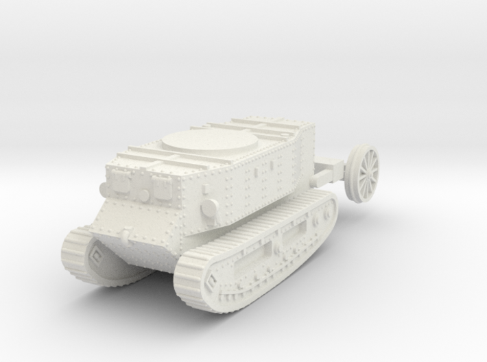1/87 (HO) Little Willie the first tank 3d printed
