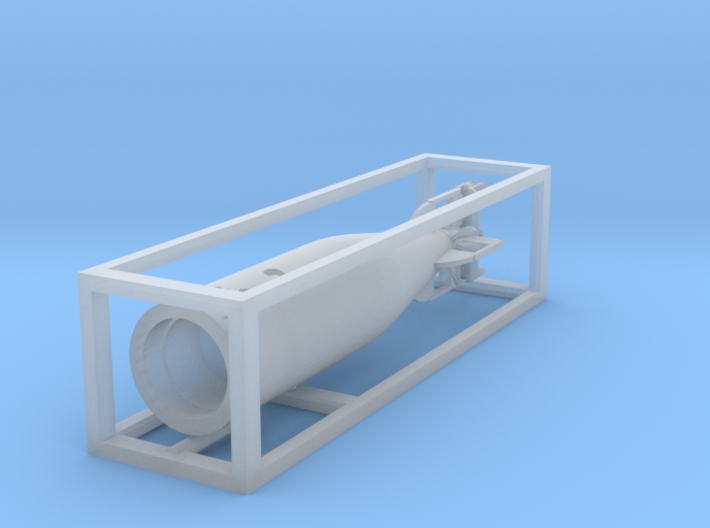 1 zu 72 loading Torpedo 3d printed