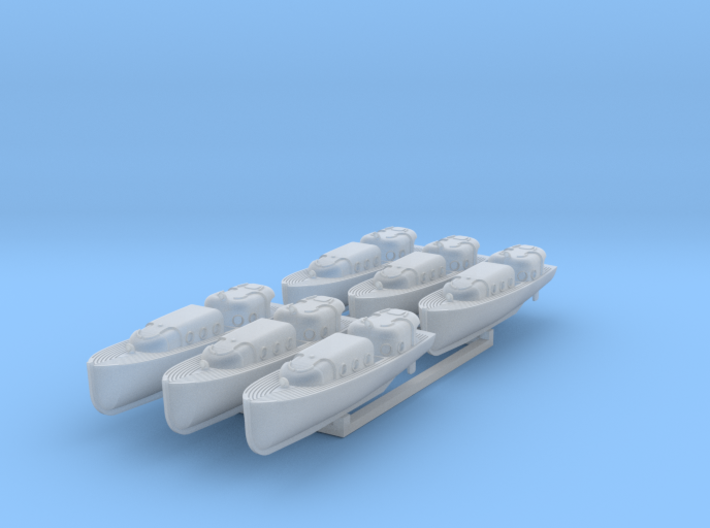 US Navy 35ft motor boat 1/350 3d printed