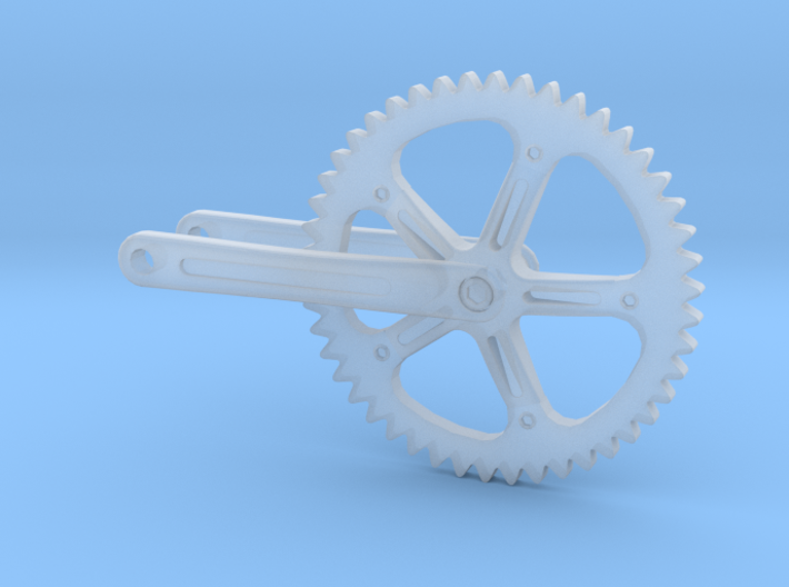 1/18 Campagnolo bicycle crankset 3d printed