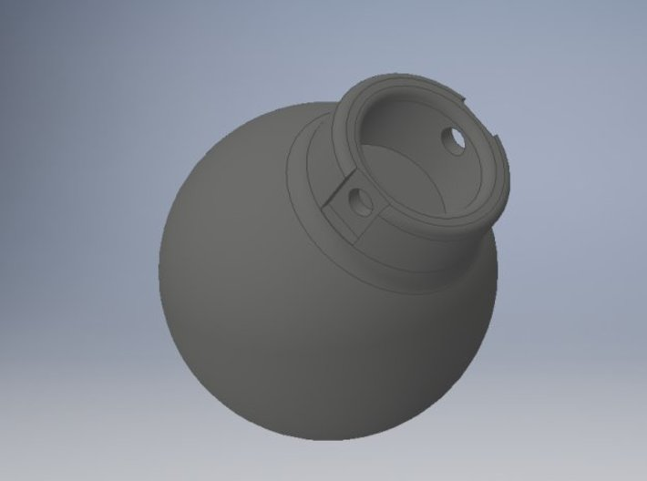 1-87 - 5000KG- Wrecking Ball - Ball Shape 3d printed