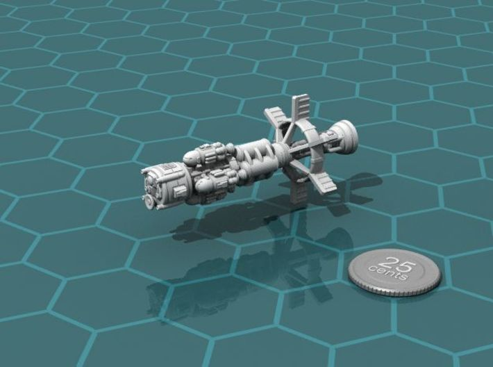 Earther Gunboat Carrier 3d printed Loaded up with gunboats (sold separately)