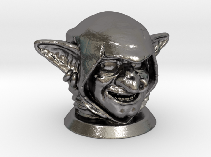 Goblin Head, Board Game Piece 3d printed