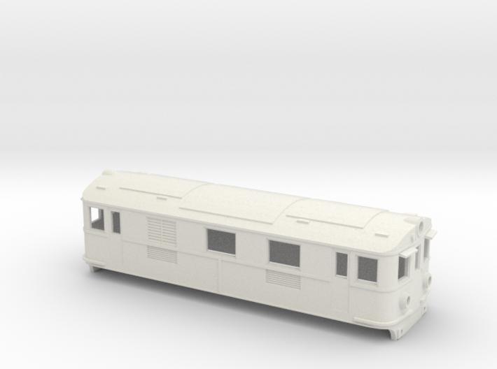 Swedish GBJ/SJ electric locomotive type Bg/Bs - H0 3d printed