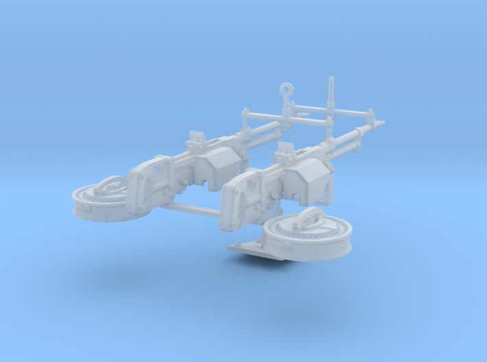 1/10 Twin Vickers K GO 3d printed