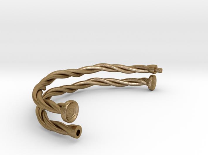 Ancient celts torc (torques) - variant 01 3d printed