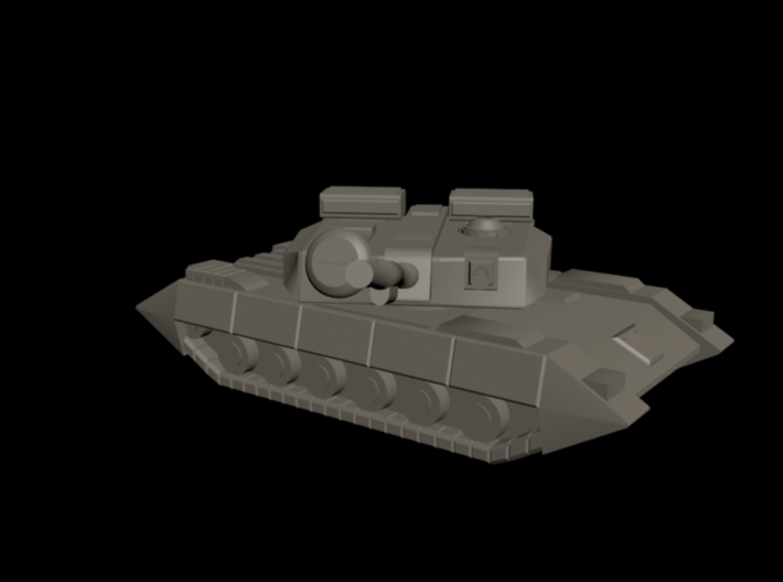 UEDF Main Battle Tank 03 3d printed 3DS Max quick render