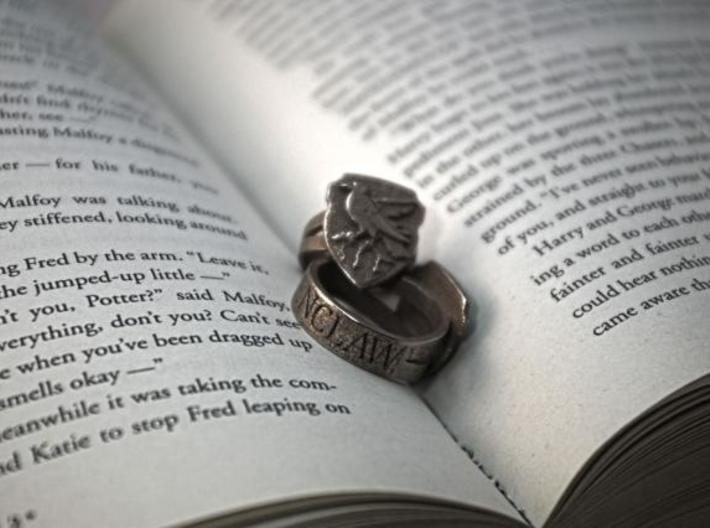 Ravenclaw Ring Size 8 3d printed Ravenclaw Ring