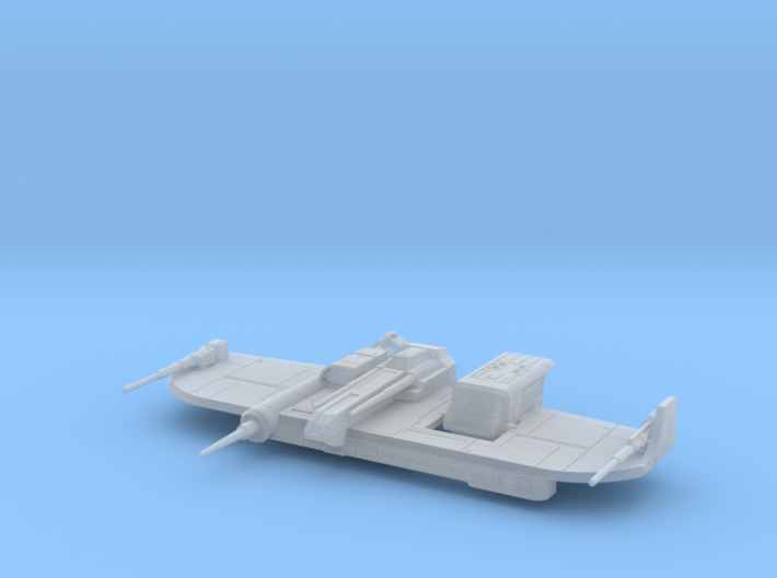 Warcarrier Republic Bomber (1/270) 3d printed