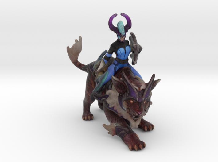 Luna (dark moon stalker set) 3d printed