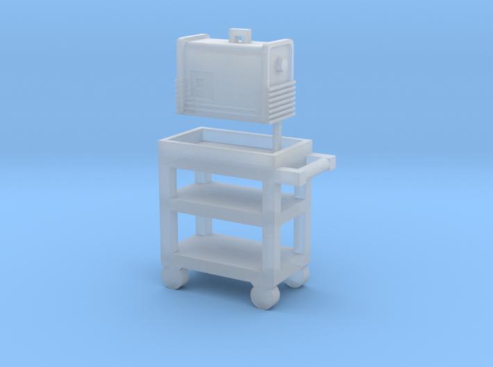 1/64 Miller 875 Plasma Cutter 3d printed