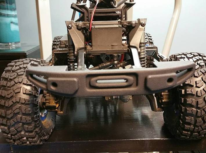 TRX-4 Front Rubicon Inspired Bumper, Full Width 3d printed