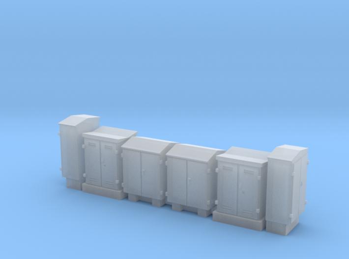 NS schakelkasten N scale 6 stuks 3d printed