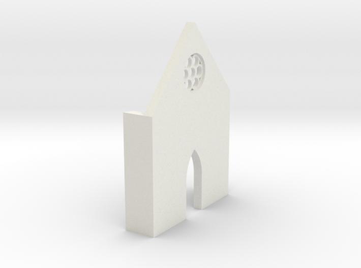shkr014 - Teil 14 Front niedrig lang Fenster zierl 3d printed
