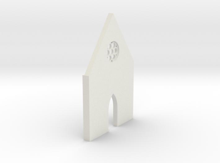 shkr015 - Teil 15 Front hoch kurz Fenster zierlich 3d printed