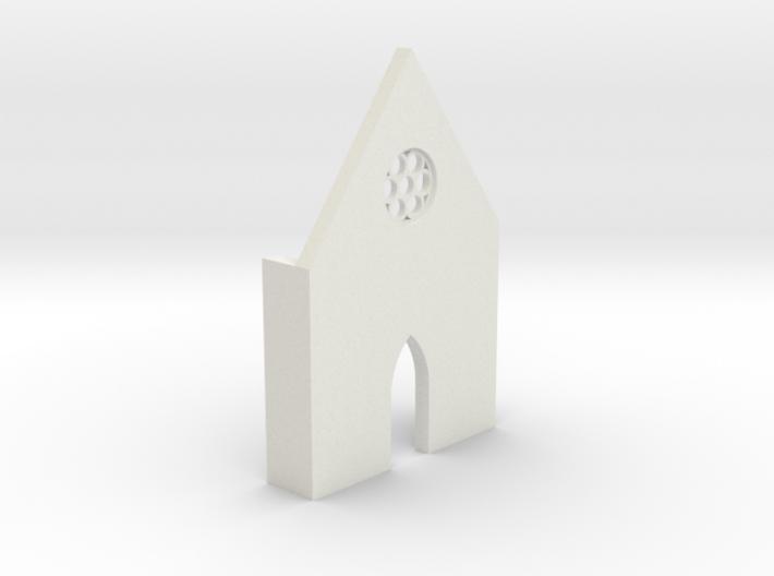 shkr016 - Teil 16 Front hoch lang Fenster zierlich 3d printed