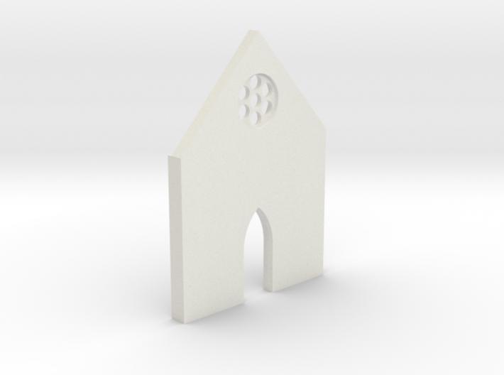 shkr006 - Teil 6 Front niedrig kurz Fenster 3d printed