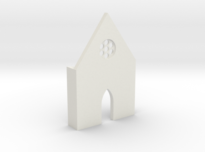 shkr009 - Teil 9 Front hoch lang Fenster 3d printed