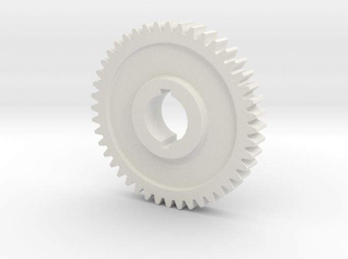 "44T Atlas/Craftsman 12"" lathe Change Gear 3d printed"