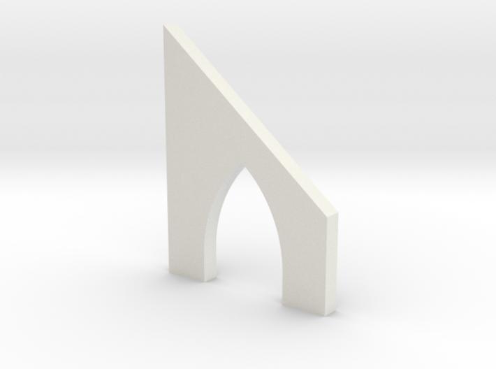shkr038 - Teil 38 Stützmauerbogen außen breit mit 3d printed