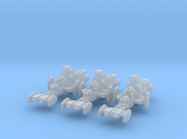 Gladiator Frigates (3) 3d printed