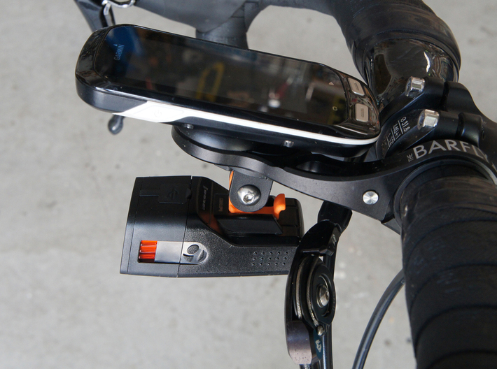 Low-Profile GoPro mount for Bontrager Ion 350/450  3d printed