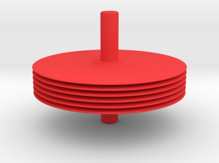 Tesla Turbine 6 Disc Rotor 3d printed