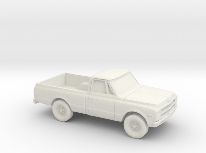 1/87 1967-69 Chevy C-Series Short Bed 3d printed