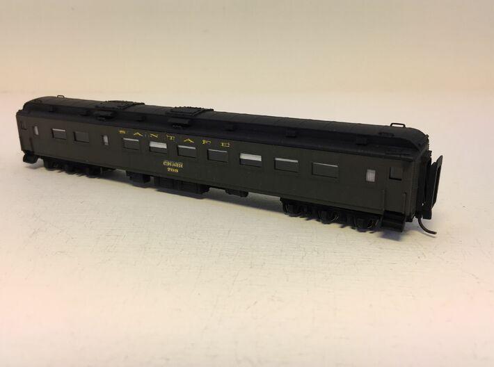 ATSF CHAIRCAR 808, roof 3d printed 799