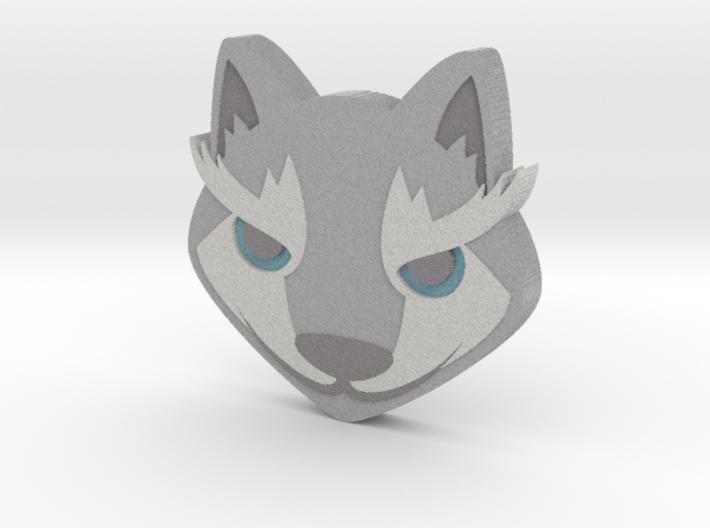 Emoji Wolf 3d printed